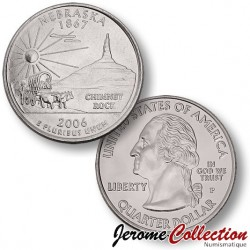ETATS-UNIS / USA - PIECE de 25 Cents (Quarter States) - Nebraska - 2008
