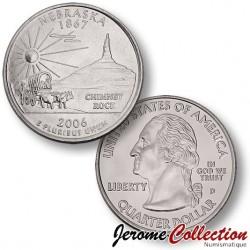 ETATS-UNIS / USA - PIECE de 25 Cents (Quarter States) - Nebraska - 2006