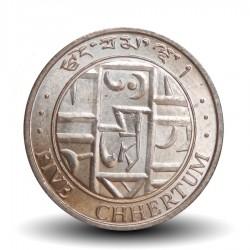 BHOUTAN - PIECE de 5 Chetrums - 1979