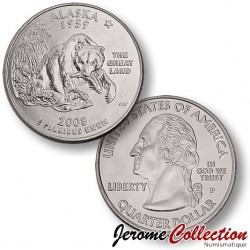 ETATS-UNIS / USA - PIECE de 25 Cents (Quarter States) - Alaska