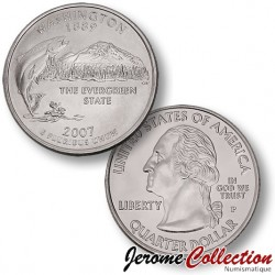 ETATS-UNIS / USA - PIECE de 25 Cents (Quarter States) - Washington - 2007