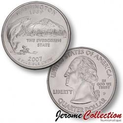 ETATS-UNIS / USA - PIECE de 25 Cents (Quarter States) - Washington