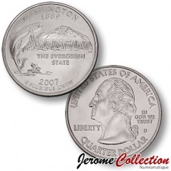 ETATS-UNIS / USA - PIECE de 25 Cents (Quarter States) - Washington - 2007