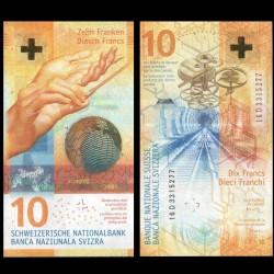 SUISSE - Billet de 10 Francs - 2016 P75a