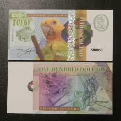 NIMROD ILANDS / ILES NIMROD - Billet de 100 DOLLARS - PERROQUET - 2018