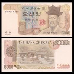 CORÉE DU SUD - Billet de 5000 Won - 2002