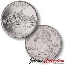 ETATS-UNIS / USA - PIECE de 25 Cents (Quarter States) - New Jersey