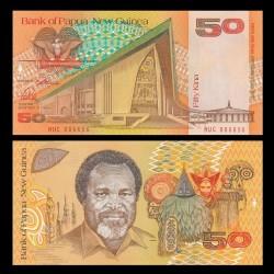 PAPOUASIE NOUVELLE GUINEE - Billet de 50 Kina - 1989