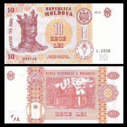 MOLDAVIE - Billet de 10 Lei - 2015