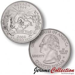 ETATS-UNIS / USA - PIECE de 25 Cents (Quarter States) - Nevada