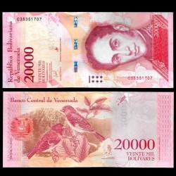 VENEZUELA - Billet de 20000 Bolivares - 13.12.2017 P99c