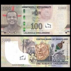 SWAZILAND - Billet de 100 Emalangeni - 2018