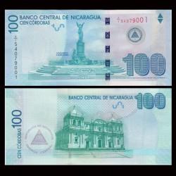 NICARAGUA - Billet de 100 Córdobas - 2012