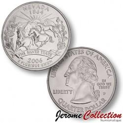 ETATS-UNIS / USA - PIECE de 25 Cents (Quarter States) - Nevada - 2006