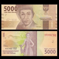 INDONESIE - Billet de 5000 Rupiah - 2017