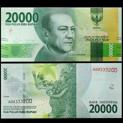 INDONESIE - Billet de 20000 Rupiah - 2017 P158b