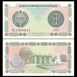 OUZBEKISTAN - Billet de 1 Som - 1994
