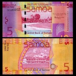 SAMOA - BILLET de 5 Tala - Plage - 2012