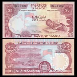 SAMOA - BILLET de 5 Tala - Ecolier - 2002