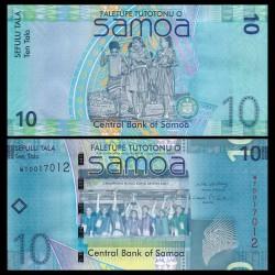 SAMOA - BILLET de 10 Tala - Champions de rugby 'Hongkong Sevens 2007' - 2008