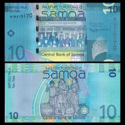 SAMOA - BILLET de 10 Tala - Champions de rugby 'Hongkong Sevens 2007' - 2017