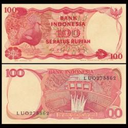 INDONESIE - Billet de 1000 Rupiah - Goura de Victoria - 1984