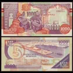 SOMALIE - Billet de 1000 Shillings - 1990 Pr10 - Block A