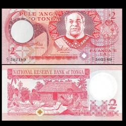 TONGA - Billet de 2 Pa'anga - Taufa'ahau IV Tupou - 1995