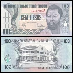 GUINEE BISSAU - Billet de 100 Pesos - Domingos Ramos - 1990