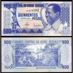 GUINEE BISSAU - Billet de 500 Pesos - Francisco Mendes - 1990