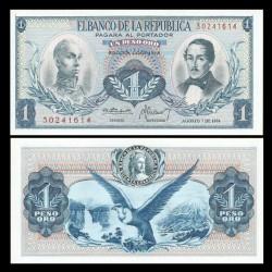COLOMBIE - Billet de 1 Peso Oro - Condor - 1974 P404e6