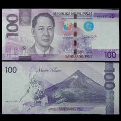 PHILIPPINES - Billet de 100 Piso - Requin-baleine - 2018A P222c2