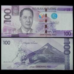 PHILIPPINES - Billet de 100 Piso - Requin-baleine - 2018A
