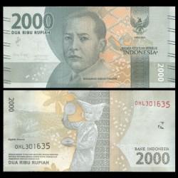 INDONESIE - Billet de 2000 Rupiah - 2016 / 2018 P155d