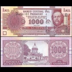PARAGUAY - Billet de 1000 Guaranies - Francisco Solano López - 2005