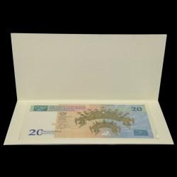 POLOGNE - Billet de 20 Złotych - 300ème anniversaire du couronnement de La Vierge Noire de Częstochowa, - 2017