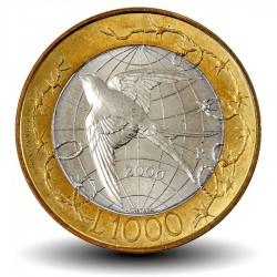 SAINT MARIN - PIECE de 1000 Lires - La Liberté - 2000