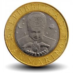 SAINT-MARIN - PIECE de 1000 Lires - La géologie - 1998