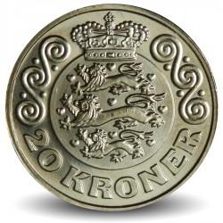 DANEMARK - PIECE de 20 Kroner - Margrethe II - 2016
