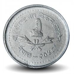NEPAL - PIECE de 10 Paisa - 1991 - २०४८ Km#1014.2