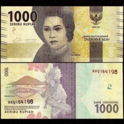 INDONESIE - Billet de 1000 Rupiah - 2018 P154c