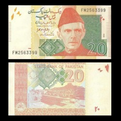 PAKISTAN - Billet de 20 Roupies - Mohenjo-daro - 2014