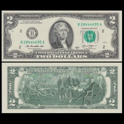 ETATS UNIS - Billet de 2 DOLLARS - 2013 - B(2) New York