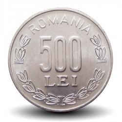 ROUMANIE - PIECE de 500 Lei - Armoiries de Roumanie - 2000