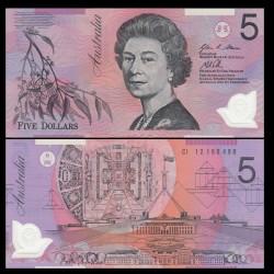 AUSTRALIE - Billet de 5 DOLLARS - 2012 - Polymer