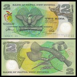 PAPOUASIE NOUVELLE GUINEE - Billet de 2 Kina - Polymer - 9ème Jeux du Pacifique Sud - 1991 P12a