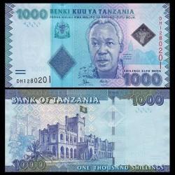 TANZANIE - Billet de 1000 Shillings - 2015