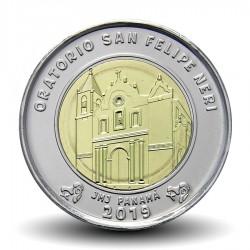 PANAMA - PIECE de 1 BALBOA - Eglise de l'Oratorio de San Felipe Neri - 2019 Km#New