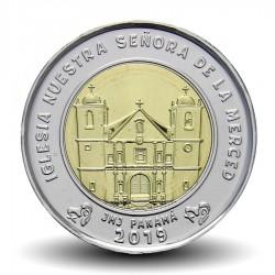 PANAMA - PIECE de 1 BALBOA - L'église de Nuestra Señora de la Merced - 2019 Km#New