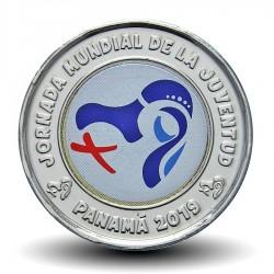 PANAMA - PIECE de 1 BALBOA - Journées mondiales de la jeunesse